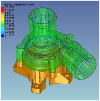 Analiza przepływu w dodatku AMPS dla IronCAD