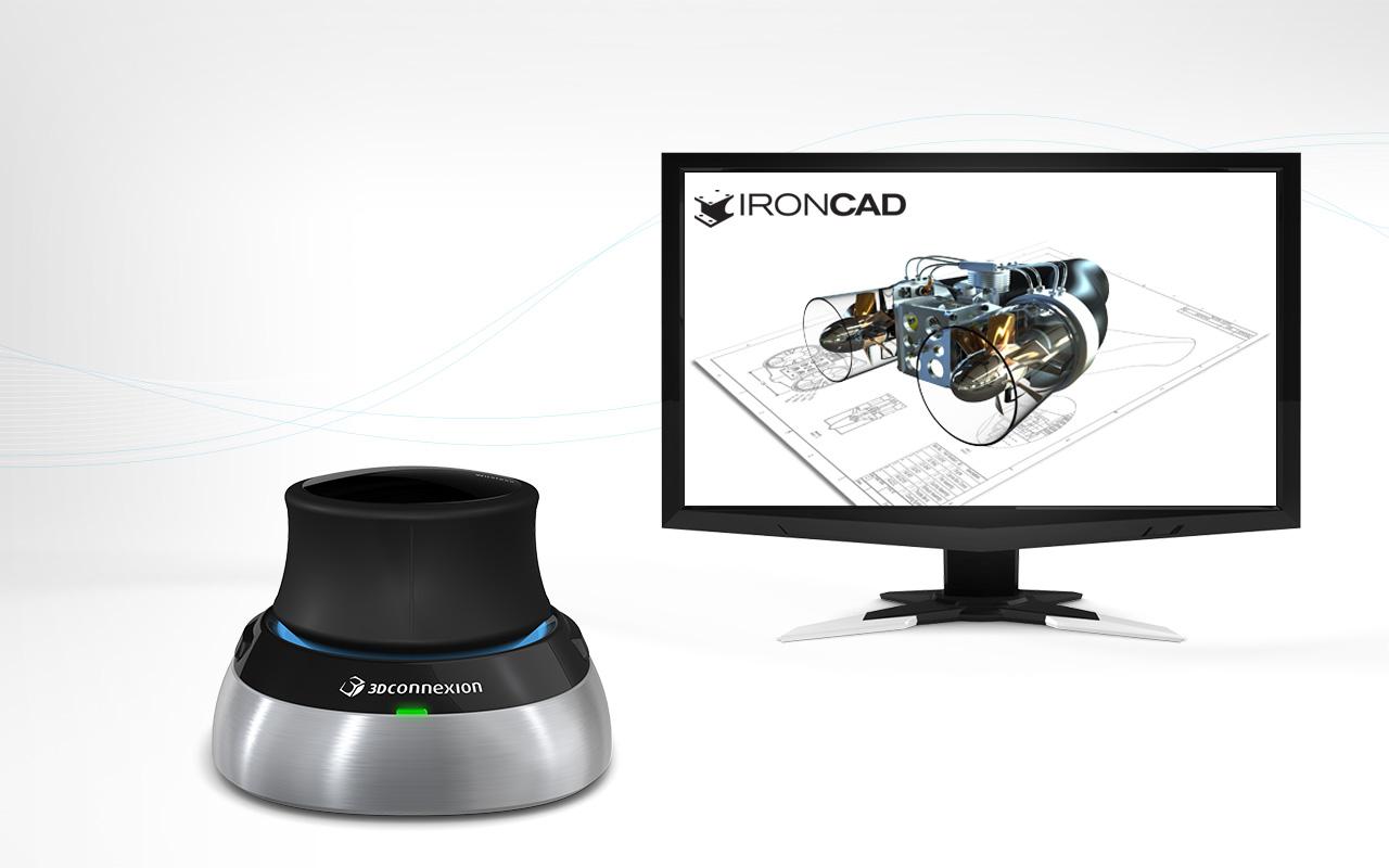 Myszki 3D firmy 3DConnexion już kompatybilne z IRONCAD