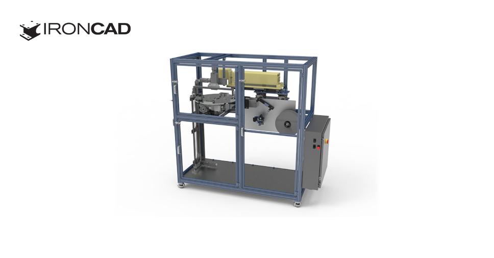 Właściwy program CAD 3D dla małych firm - Jak IRONCAD wspomaga projektowanie w Van Geldern Machine Company Inc.