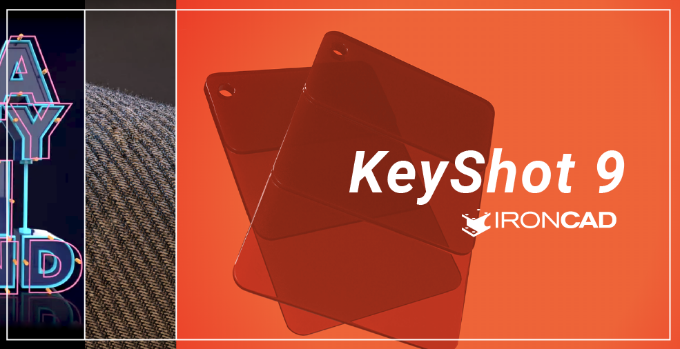 KeyShot 9 kompatybilny z IRONCAD
