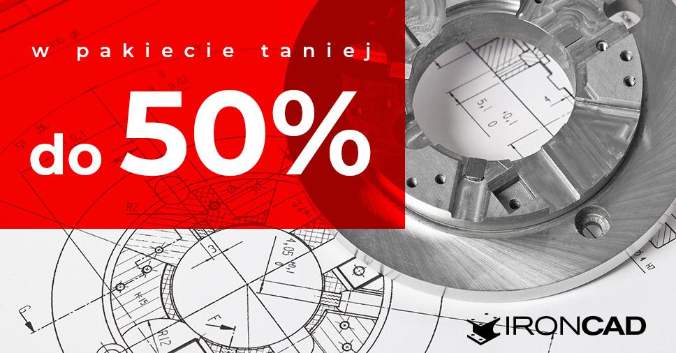 We wrześniu IRONCAD w pakiecie taniej nawet do 50%!