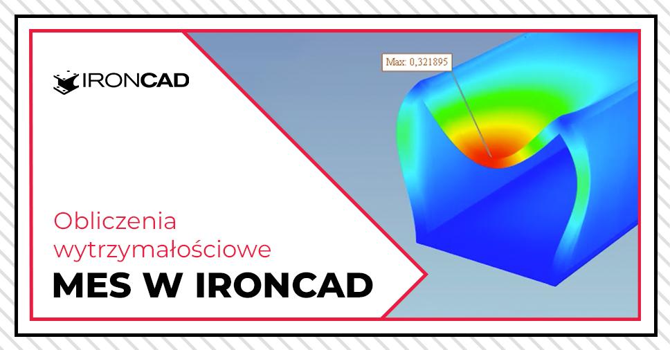 Analiza odchyleń i odkształceń kontenera w programie IRONCAD