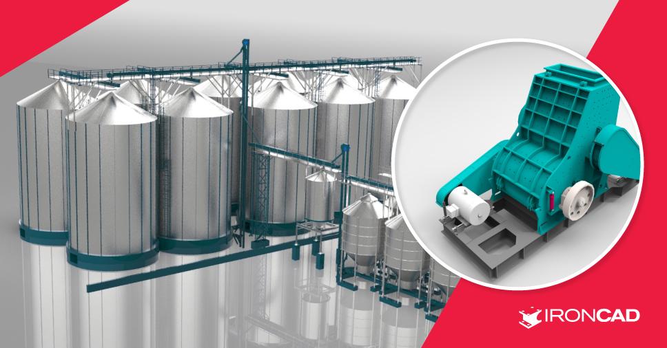Program CAD 3D IRONCAD w branży rolniczej